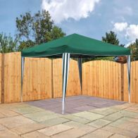 See more information about the Bentley 3m x 3m Pop Up Garden Patio Canopy Gazebo - Green