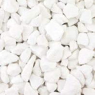 See more information about the White Marble Chippings 10-16mm 900kg Bulk Bag