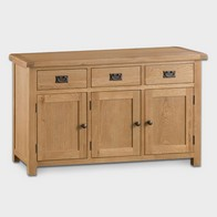 See more information about the Cotswold Sideboard Oak 3 Door