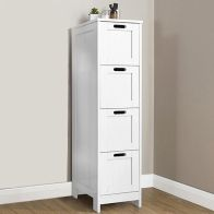 See more information about the Colonial White Slim Chest Of 4 Drawers