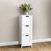 See more information about the Colonial White Slim Chest Of 3 Drawers