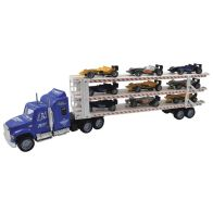 See more information about the Car Transporter Triple Decker Blue