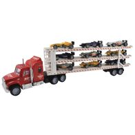 See more information about the Car Transporter Triple Decker Red