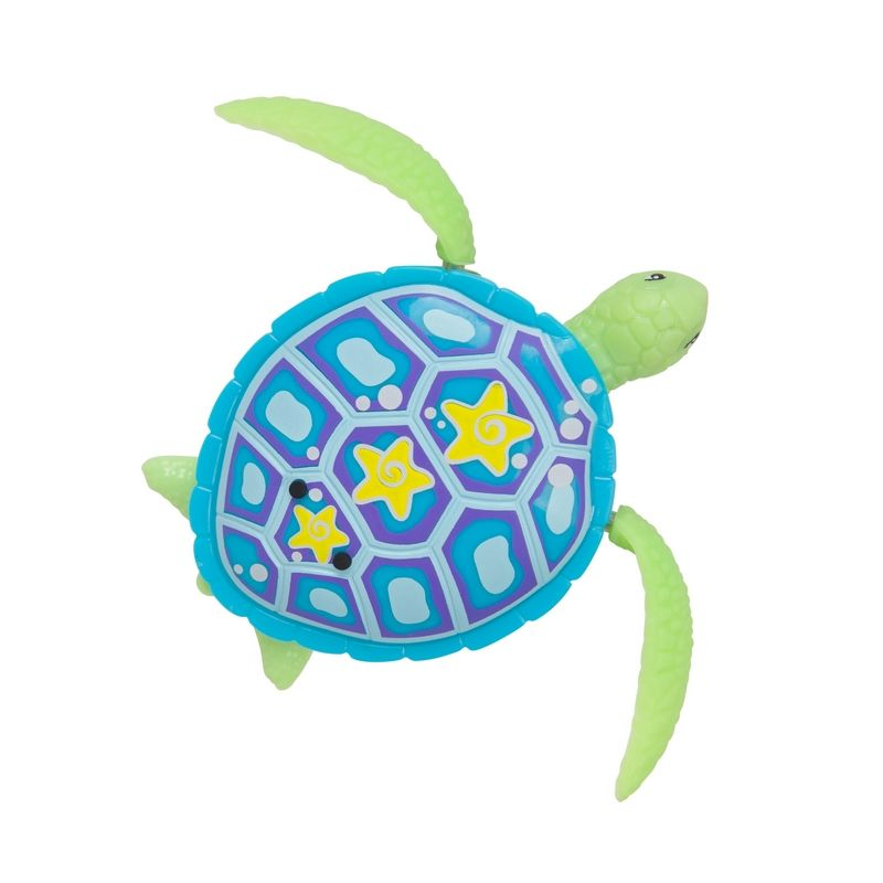 Robo Alive Swimming Shelby Blue Turtle Bath Toy Buy