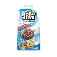 See more information about the Robo Alive Swimming Red Wood Turtle Bath Toy