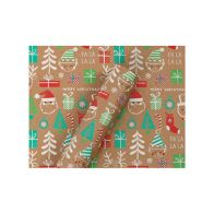 See more information about the 3m Krafty Christmas Wrap - Elf, Santa & Presents