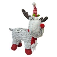 See more information about the Reindeer With Red Hat & Scarf 10 Inch