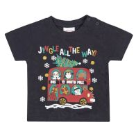 See more information about the Baby Xmas Print T-Shirt 3-6 Months - Jingle All The Way