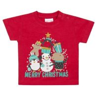 See more information about the Baby Xmas Print T-Shirt 3-6 Months - Merry Christmas
