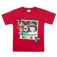 See more information about the Xmas Print T-Shirt 7-8 Years - Merry Christmas Selfie