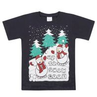 See more information about the Xmas Print T-Shirt 7-8 Years - Up To Snow Good