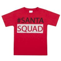 See more information about the Xmas Print T-Shirt 7-8 Years - Santa Squad