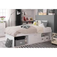 See more information about the Kidsaw Single Bed 3ft Low Cabin Bed Frame