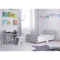 See more information about the Kidsaw Kids Bed 2ft 6in Star Junior Toddler Bed Frame
