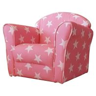 See more information about the Kidsaw Mini Armchair Pink White Stars