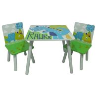 See more information about the Dinosaur Play Table With 2 Chairs