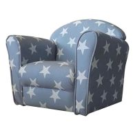 See more information about the Kidsaw Mini Armchair Grey White stars