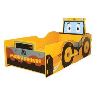 See more information about the Kidsaw Kids Bed 2ft 6in JCB Muddy Friends Junior Toddler Bed Frame