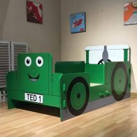 See more information about the Tractor Toddler Bed Green