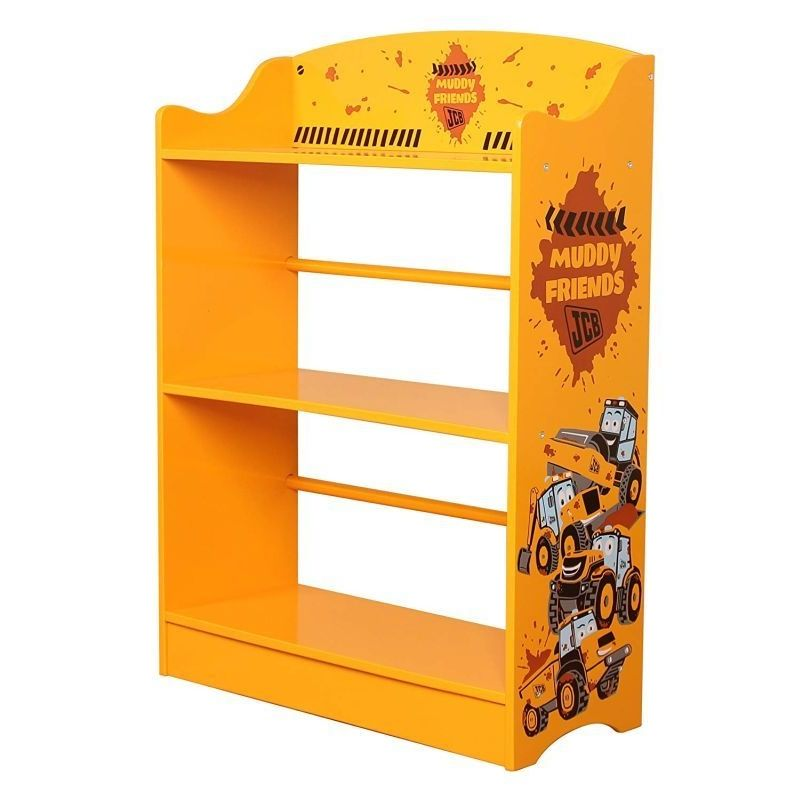 JCB Bookcase Yellow 3 Shelf