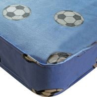 See more information about the Kidsaw Football Single 3ft Mattress Blue