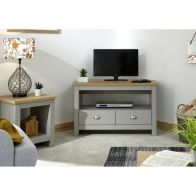 See more information about the Lancaster Corner TV Unit - Grey