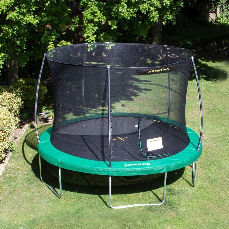 Jumpking JumPOD Classic Round 10ft Trampoline Safety Net & Pad