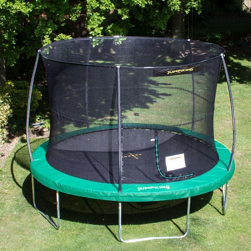Jumpking JumPOD Classic Round 14ft Trampoline Safety Net & Pad
