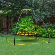 See more information about the Jumpking Swing Set Black & Yellow Frame