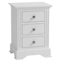 See more information about the Banbury Large Bedside Table White