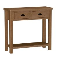 See more information about the Rutland Oak Console Table Rustic