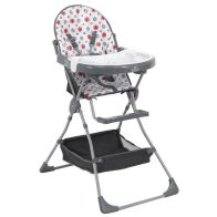See more information about the Kudl Highchair Grey With Storage Basket