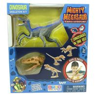 See more information about the Mighty Megasaur Buildable Raptor Skeleton Set