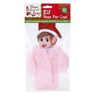 See more information about the Elf Size Faux Fur Coat Pink