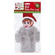 See more information about the Elf Size Faux Fur Coat Grey