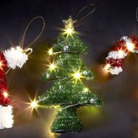 See more information about the Indoor Hanging Battery Powered Christmas Tree Light