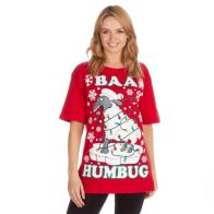 See more information about the Baa Humbug Christmas T-Shirt - Small