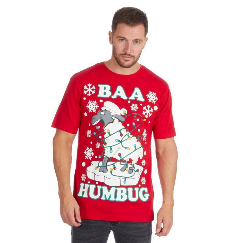 Baa Humbug Christmas T-Shirt - XX Large