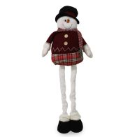 See more information about the Extendable Standing Snowman Figure - 36 Inch