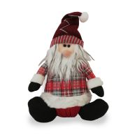 See more information about the Tartan Santa Character Sitting 11 Inch