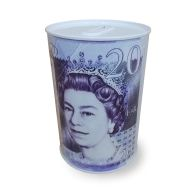 See more information about the Sterling Money Tin 10 x 15cm Twenty