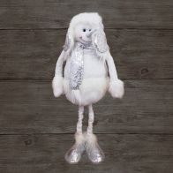 See more information about the Sparkle Snowman White & Silver Extendable 32 Inch