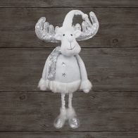 See more information about the Sparkle Reindeer White & Silver Extendable 32 Inch