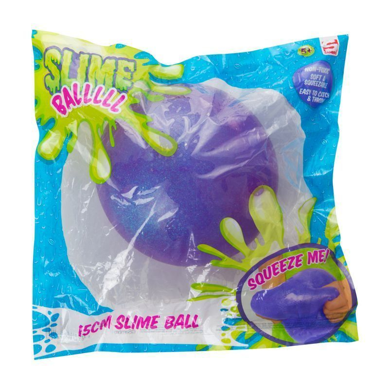 15cm Slime Ball Purple