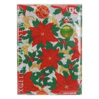 See more information about the Christmas Tablecloth -  Holly & Baubles