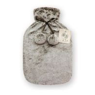 See more information about the Hamilton McBride Faux Fur Hot Water Bottle 2 Litre - Light Brown
