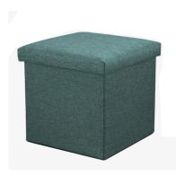 See more information about the Blue Square Ottoman 38cm