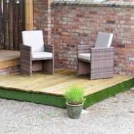 See more information about the Swift Deck Premium Garden Decking Kit 2.4 x 2.4m