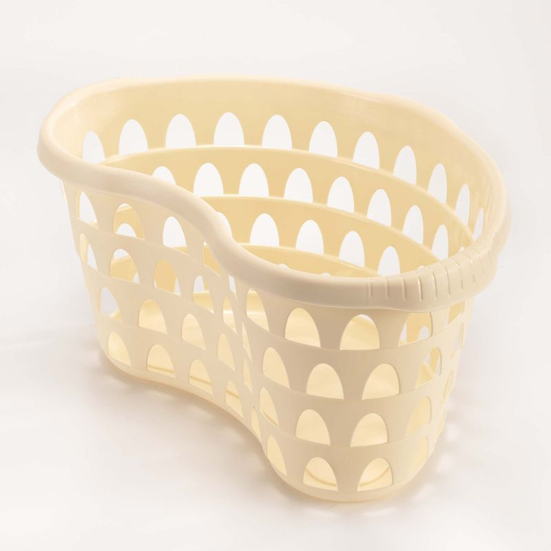 Hipster Laundry Basket Cream
