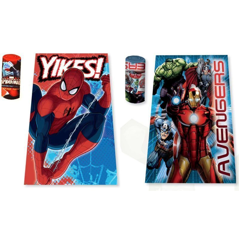 Spiderman Fleece Blanket / Throw